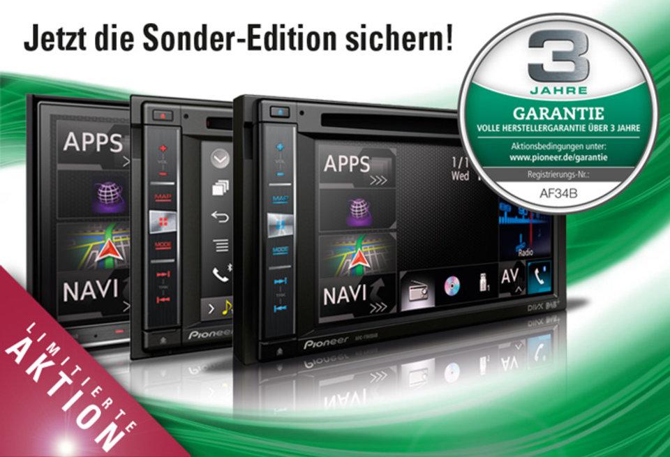 Sonder-Edition mit 3 Jahren voller Herstellergarantie!