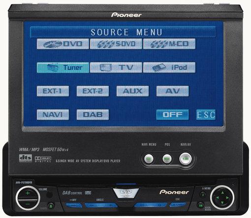 Support for AVH-P5700DVD | Pioneer