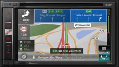 Multimedie navigationsreceivere