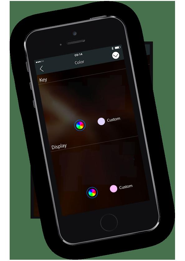 Пионер дуги - управления освещением - устройство Apple скриншот