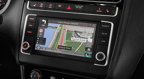 navgate evo car dashboard integrated gps navigation pioneer