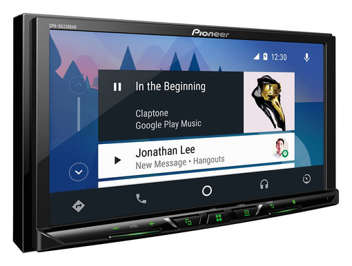 sph da230dab voiture autoradio vid o pioneer. Black Bedroom Furniture Sets. Home Design Ideas