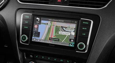 navgate evo car dashboard integrated gps navigation pioneer. Black Bedroom Furniture Sets. Home Design Ideas
