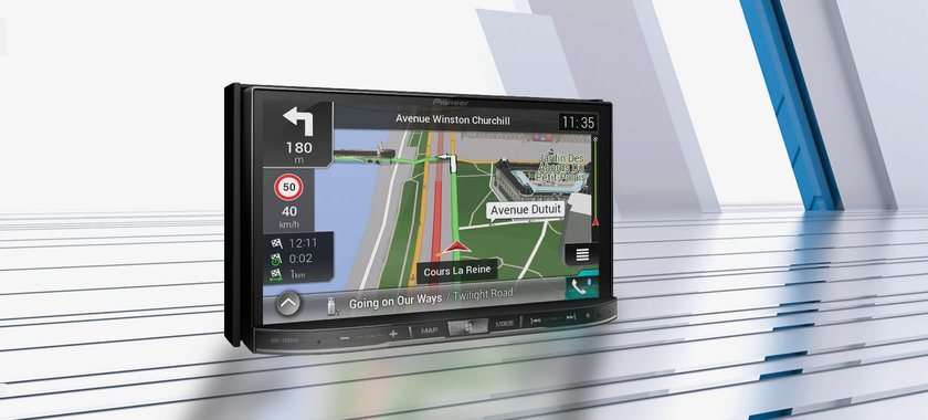 Multimedia navigation receivers