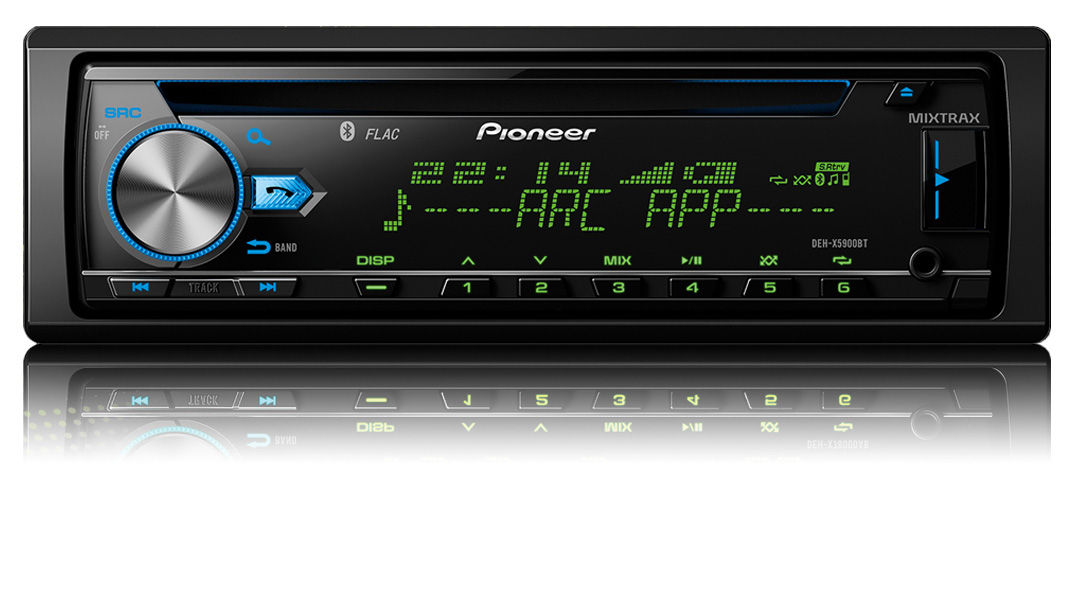 Pioneer headunit - illumination control