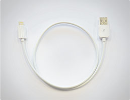 USB to lightning cable (Apple devices with lightning connector)