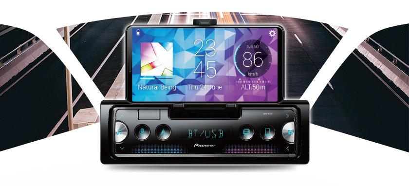 Car GPS Navigation – Multimedia Receiver – Digital Bass Control